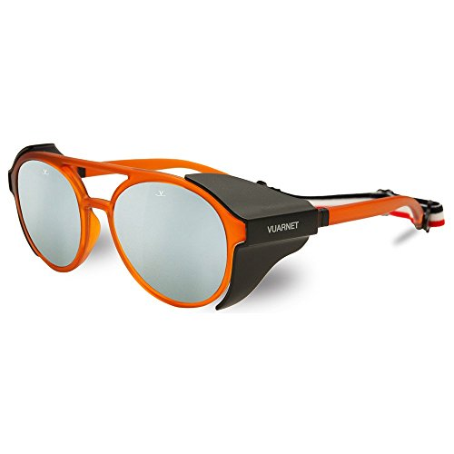 Vuarnet Little Grey - Gafas de sol para niños, color naranja transparente