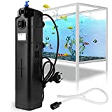 *Forever Speed UVC Filter Pumpe JUP-23 8 watt UV Sterilizer Einstellbarer Pump Filter für 285L Aquarium/Fish