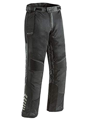 Joe Rocket 1518-3014 Phoenix Ion Men's Mesh Motorcycle Pants (Black, Large Short)