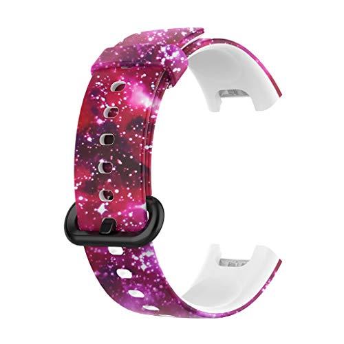 unknows - Correa de silicona para reloj inteligente Xiaomi Red-mi