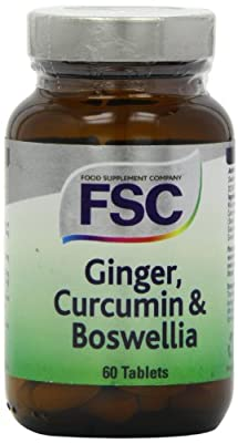 FSC Ginger Curcumin and Boswellia - Pack of 60 Tablets