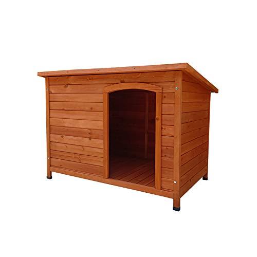 Gardiun KNH1250 - Caseta de Perro de madera Malik a 1 agua 104x66x70 cm