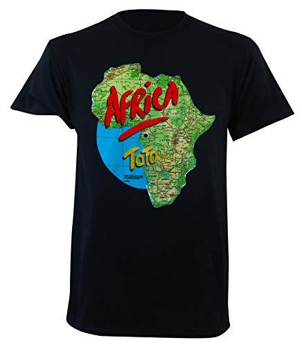 Toto Men's Africa Tour T-Shirt Black S