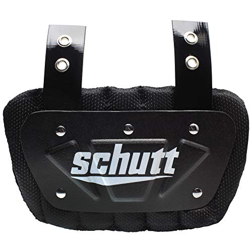 Schutt Sports Neon Football Back Plate, Neon Blue, Youth