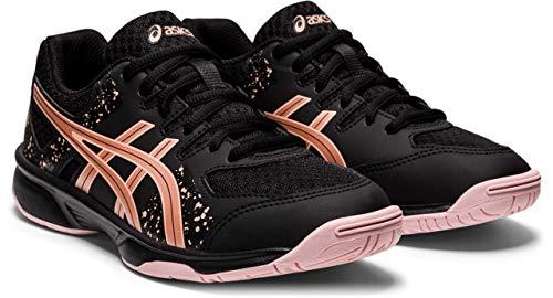 ASICS Flare 7 GS Volleyball-Schuh, Black/Rose Gold, 38 EU
