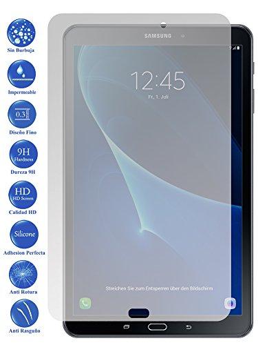 Todotumovil Protector de Pantalla Galaxy Tab A 2016 10.1 WiFi de Cristal Templado Vidrio 9H para Tablet