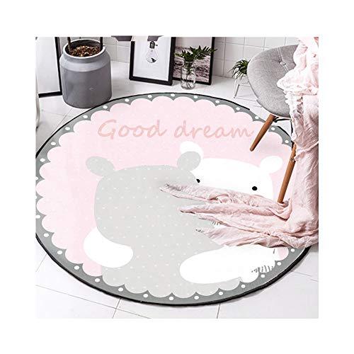 Alfombra 3D patrón de oso sala de estar dormitorio sofá cojín felpudo cocina baño alfombra de múltiples áreas
