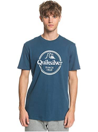 Quiksilver™ Words Remain Tshirt Tshirt Männer L Blau