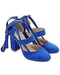 e1c17d9b308 7 Best Royal Blue Lace Up Heels - HeelChill