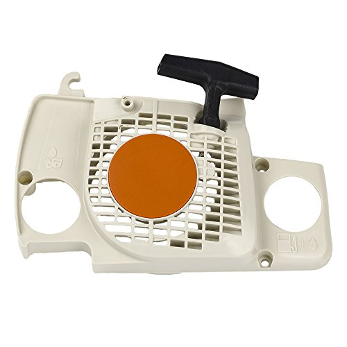 HIFROM Replace Recoil Starter Assembly Fits for Stihl MS180,MS170,017,018 Chainsaws Motor Engine Pull Start Recoil Rewind Parts