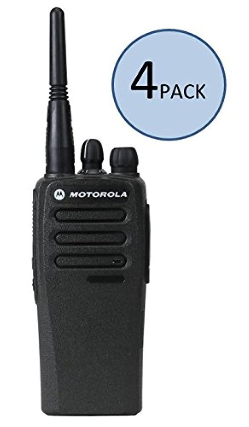 4 Pack of Motorola CP200d UHF Two Way Radios