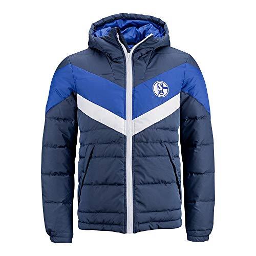 FC Schalke 04 Fanartikel Steppjacke Winterjacke Block Größe L