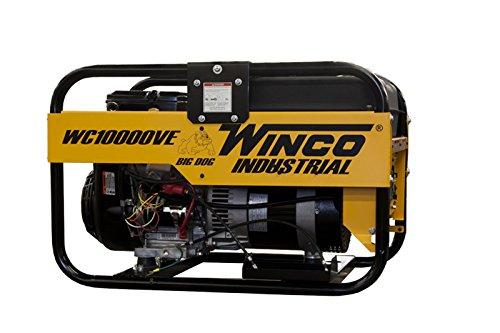 Winco WC10000VE Industrial Portable Generator, 10,500W Maximum, 276 lb.