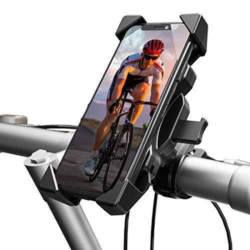 LAMA Handyhalterung Fahrrad Handyhalterung Motorrad 360° drehbar Fahrrad Halter universal Handyhalter für iPhone Galaxy Huawei und andere Handy