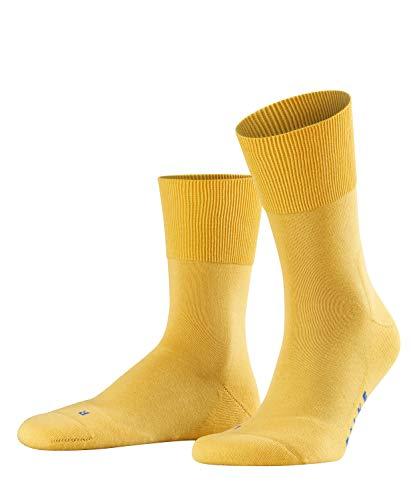 FALKE Unisex Socken, Run U SO- 16605, Gelb (mustard 1187), 46-48