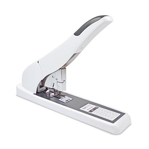 Rapesco 1397 ECO HD-210 Blockheftgerät, 210 Blatt Heftleistung, Soft Weiß