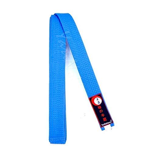YariNoHanzo Cinturón Azul para Karate y Judo | Todas Las Medidas