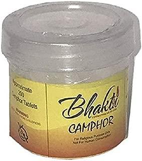 Bhakti Smokeless Camphor Blocks Tablets High Quality Refined Camphor 1.75 oz (50gm)