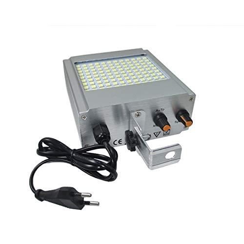 Strobo led lampeggiante 108 led lampada luce bianca smd flash stroboscopica disco dj effetto disco. MEDIA WAVE store