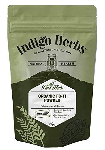 Indigo Herbs Bio Fo-ti Pulver 100g (Ho Shou Wu)