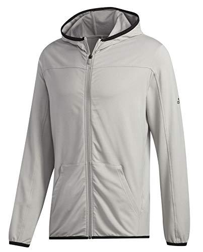 adidas City FLC F/Z HD Sweatshirt, Hombre, mgh Solid Grey, S
