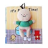 hsj Quiet Buch beschäftigt Buch Baby Newborn weichen Tuch Buch Lernen Bildung Lernen Gefühl Buch...