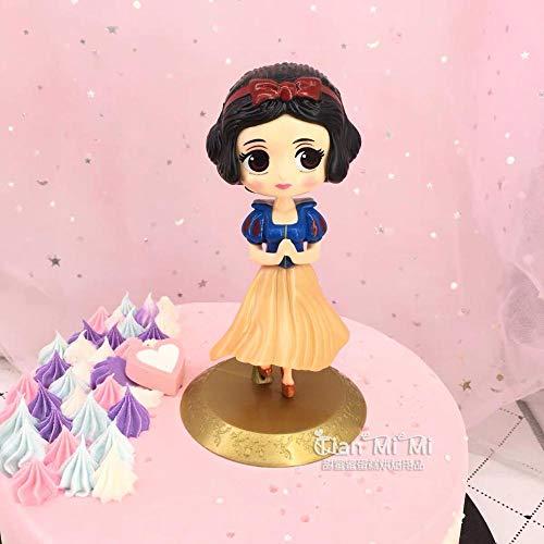 Decorazione Torta di Compleanno Decorazione da Forno Principessa Biancaneve-Plastica Bianca Come La Nevezeenca
