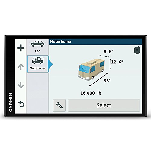 Garmin Camper 770LMT-D 6.95 Inch Sat Nav with Full Europe Lifetime Maps, Free...