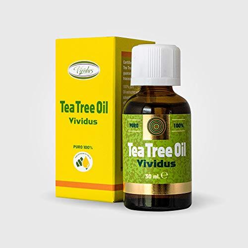 Teebaumöl vividus nützlich gegen Pilzinfektionen und Irritationen 30 ml