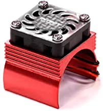 Integy RC Model Hop-ups C23140RED Super Brushless Motor Heatsink+Cooling Fan 540 Size BL