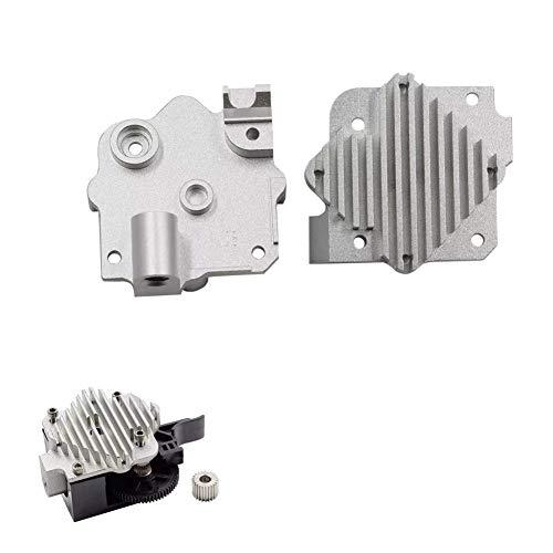 RONGW JKUNYU 3D printer accessories, Aluminum Alloy 1.75mm Upgrade ExtruderHotend Heatsink For 3D Printer Parts printer