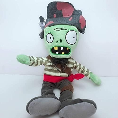 ZDHONA Pianta Contro Gli Zombi Giocattoli di Peluche 30 cm Pirate Zombie Fluff Film Animal Doll Regalo per Bambini