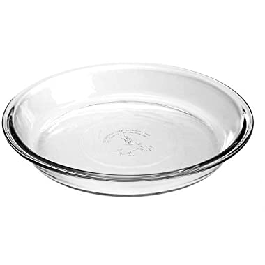 Anchor Hocking Glass Pie Dish, Set of 2