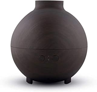 Xuyuanjiashop Cool Mist Humidifier Air Humidifier Aroma Oil Diffuser Home Office, Aroma Mist Waterless Auto Power Off Mute Humidifier Quiet Humidifiers (Color : Dark Wood)