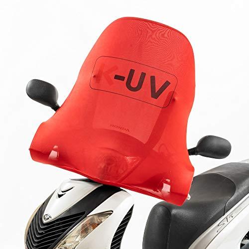 K-UV® Copri Parabrezza di Taglia Universale per Scooter e Moto. Evita l\'effetto lente e protegge dal sole il parabrezza ed il cruscotto del tuo scooter. Utile anche in inverno contro la brina.