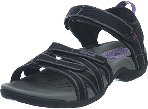 Teva Damen Tirra Womens Sport-& Outdoor Sandalen, Schwarz (Black/Grey 912), 39 EU