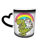 Dabbing Unicorn calore sensibile caffè magica tazze set di colori carino caffè tè unico cambiando tazza di calore