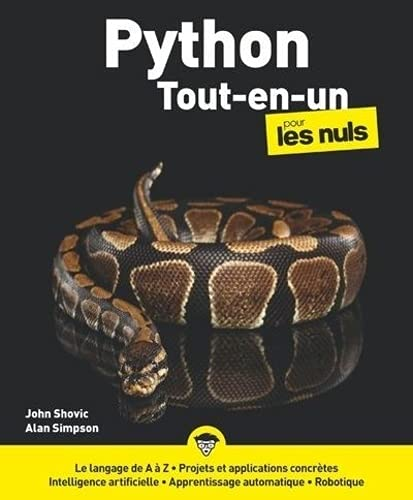Python Tout en Un pour les Nuls, grand format