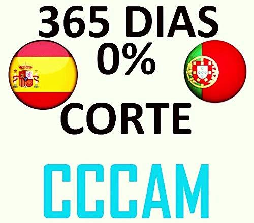 12 Mes CCCAM 1 año Europa, España 2 Cline suscripción HD Wifi DVB-S2 todos los decodificadores satelites, Especial para decodidificadores Engel