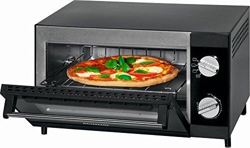 Mini-Backofen mit Grill-Funktionund Ober- und Unterhitze Mini-Ofen Multibackofen Pizzabackofen 12 Liter Garraum (leistungsstarke 1000 Watt + inkl. Backblech, Grillrost und Krümelschublade)