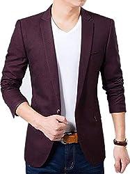 Creative Mens Slim Fit Cotton Blazer