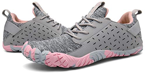 Voovix Women & Mens Barefoot Athletic Trail Shoes