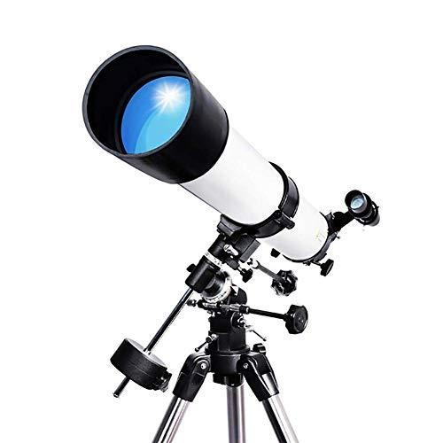 Drohneks Teleskop - Telescopio monocular (8x, 35 mm, con trípode y bolsa, impermeable, ángulo de 45 grados, para observación de aves, observación de cielos)