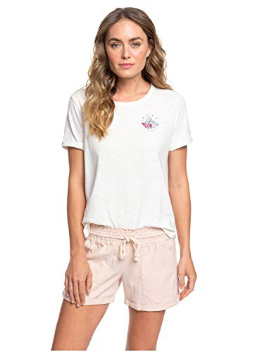 Roxy Donna Pantaloncini Little Kiss (Peach Blush), Taglia:L