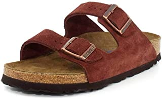 Birkenstock Arizona Soft Footbed Port Suede Sandals 40 (US Women's 9-9.5)