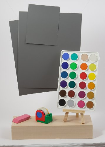 DGK Color Tools R-27, 18% Gray White Balance and Exposure Control Card Set, (Set of Three Cards, Two 8x10' and One 4x5')