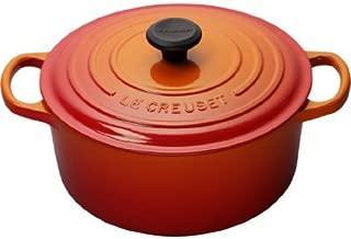 Le Creuset Signature Enameled Cast-Iron 9-Quart Round French (Dutch) Oven, Flame