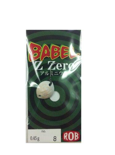 ROB LURE(ロブルアー) ルアー バベルZ・ZERO 0.45g #8レッドグロー スプーン