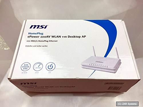MSI Mega ePower 200AV+ Wireless 11n Desktop AP/Extender