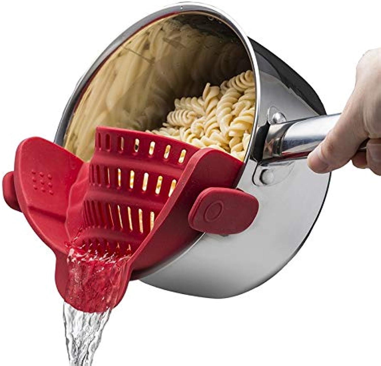 Uniqus Uroomee Silikon-Topf Silikon-Topf Silikon-Topf Schüssel Trichter Sieb Küche Reis Waschsieb Küche Zubehör zum Abtropfen von Flüssigkeit B07JM53N8Z b185f6